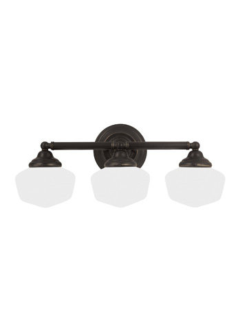 Sea Gull Lighting - Three Light Wall / Bath Sconce - 44438-782