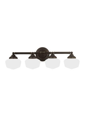 Sea Gull Lighting - Four Light Wall / Bath Sconce - 44439-782