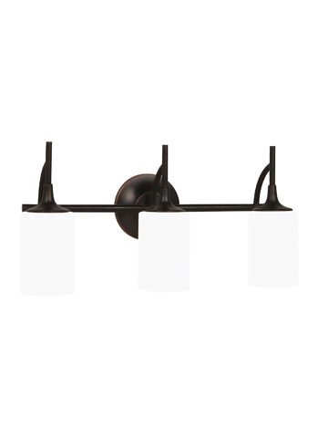 Sea Gull Lighting - Three Light Wall / Bath Sconce - 44954-710