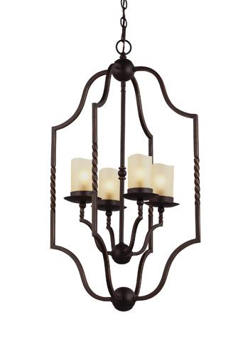Sea Gull Lighting - Four Light Hall / Foyer Pendant - 5110604-191