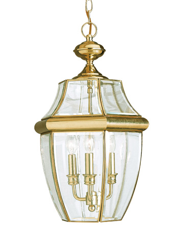 Sea Gull Lighting - Three Light Outdoor Pendant - 6039-02