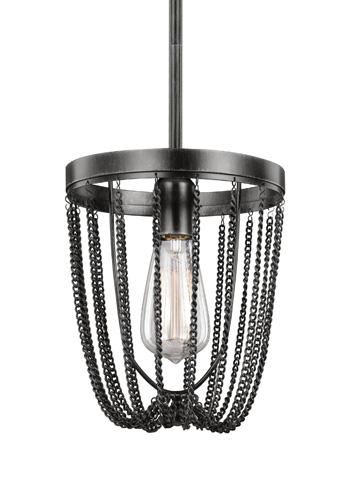 Sea Gull Lighting - One Light Mini-Pendant - 6110101-846