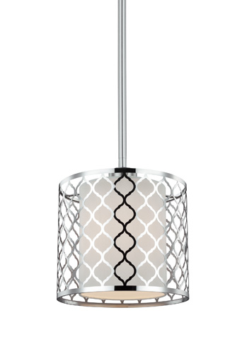 Sea Gull Lighting - One Light Mini-Pendant - 6115501-962