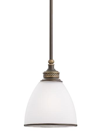Sea Gull Lighting - One Light Mini-Pendant - 61350-708