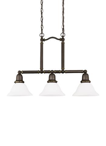 Sea Gull Lighting - Three Light Island Pendant - 66061-782