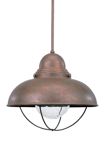Sea Gull Lighting - One Light Outdoor Pendant - 6658-44
