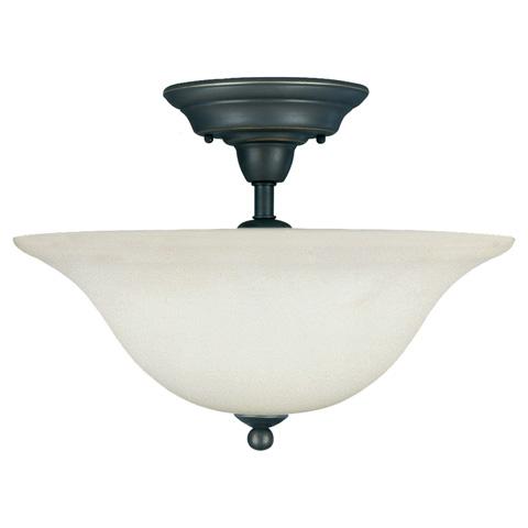 Sea Gull Lighting - Three Light Semi-Flush Mount - 75061-782