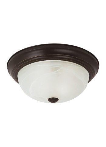 Sea Gull Lighting - Three Light Ceiling Flush Mount - 75943-782