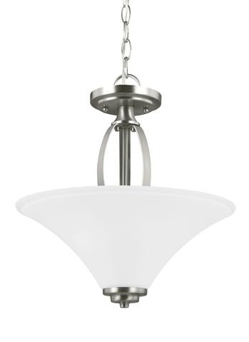 Sea Gull Lighting - Two Light Semi-Flush Convertible Pendant - 7713202-962