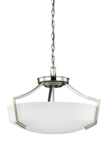 Sea Gull Lighting - Three Light Ceiling Convertible Pendant - 7724503-962