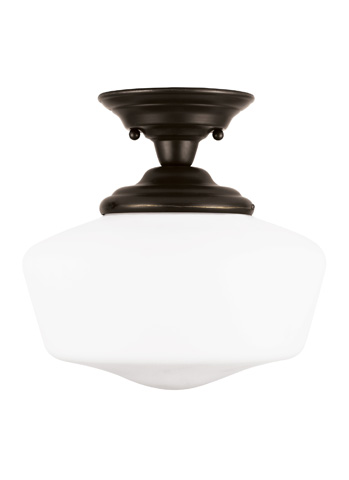 Sea Gull Lighting - One Light Semi-Flush Mount - 77436-782