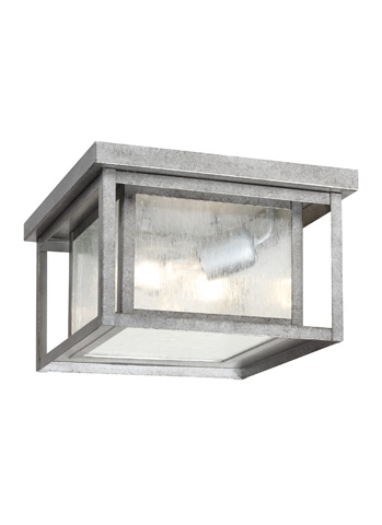 Sea Gull Lighting - Two Light Outdoor Ceiling Flush Mount - 78027-57