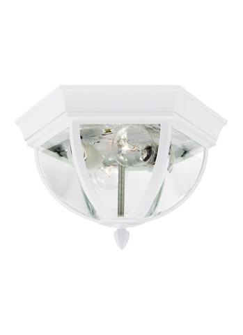 Sea Gull Lighting - Two Light Outdoor Ceiling Flush Mount - 78136-15