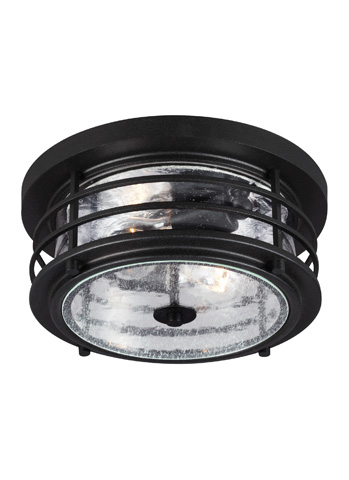 Sea Gull Lighting - Two Light Outdoor Ceiling Flush Mount - 7824402-12