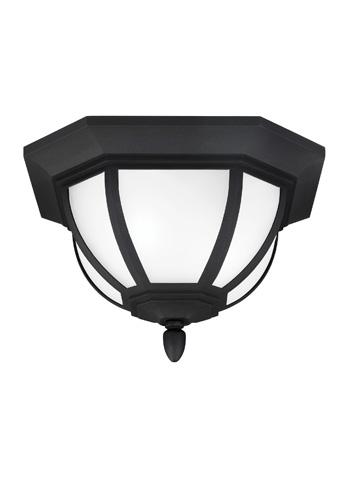 Sea Gull Lighting - Two Light Outdoor Ceiling Flush Mount - 7836302-12