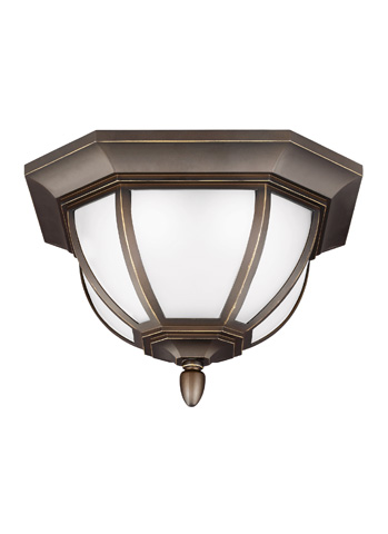 Sea Gull Lighting - LED Outdoor Ceiling Flush Mount - 7836391S-71
