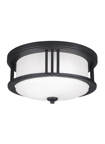 Sea Gull Lighting - Two Light Outdoor Ceiling Flush Mount - 7847902-12