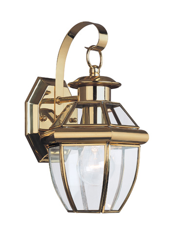 Sea Gull Lighting - One Light Outdoor Wall Lantern - 8037-02