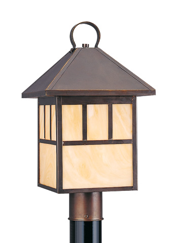 Sea Gull Lighting - One Light Outdoor Post Lantern - 8207-71