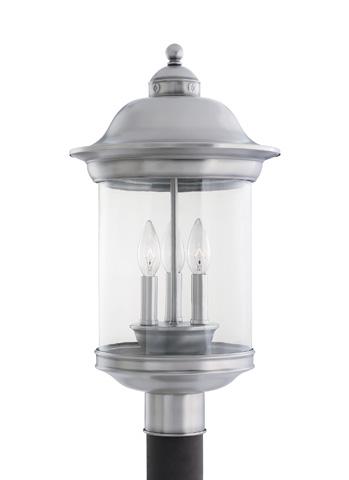 Sea Gull Lighting - Three Light Outdoor Post Lantern - 82081-965