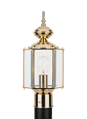 Sea Gull Lighting - One Light Outdoor Post Lantern - 8209-02