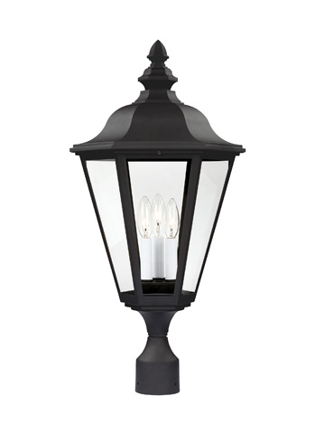 Sea Gull Lighting - Three Light Outdoor Post Lantern - 8231-12