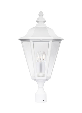Sea Gull Lighting - Three Light Outdoor Post Lantern - 8231-15