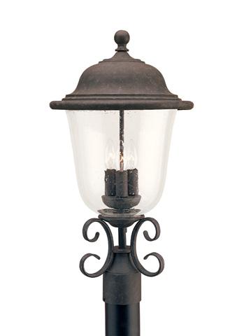 Sea Gull Lighting - Three Light Outdoor Post Lantern - 8259-46
