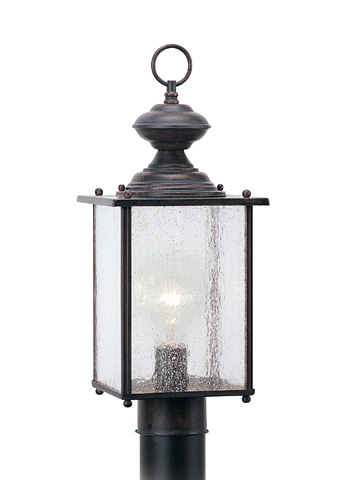 Sea Gull Lighting - One Light Outdoor Post Lantern - 8286-08