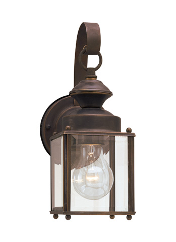 Sea Gull Lighting - One Light Outdoor Wall Lantern - 8456-71