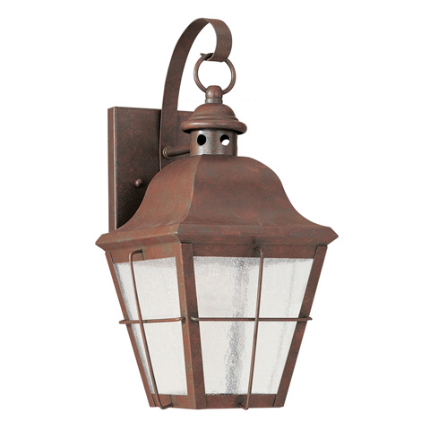 Sea Gull Lighting - Small LED Outdoor Wall Lantern - 846291S-44