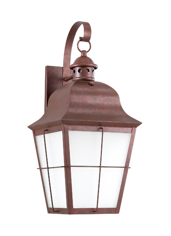 Sea Gull Lighting - One Light Outdoor Wall Lantern - 8463D-44