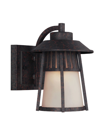 Sea Gull Lighting - Small One Light Outdoor Wall Lantern - 8511701-746