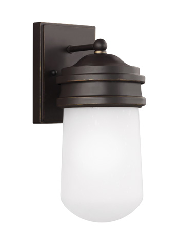Sea Gull Lighting - Small One Light Outdoor Wall Lantern - 8512601-71