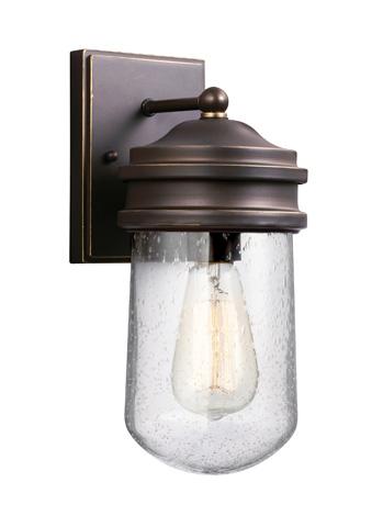 Sea Gull Lighting - Small One Light Outdoor Wall Lantern - 8512631-71