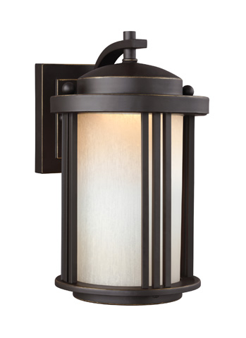 Sea Gull Lighting - Small LED Outdoor Wall Lantern - 8547991DS-71