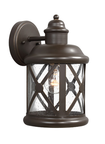 Sea Gull Lighting - Medium One Light Outdoor Wall Lantern - 8621401-71