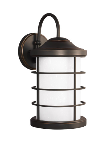 Sea Gull Lighting - Large LED Outdoor Wall Lantern - 8624491S-71