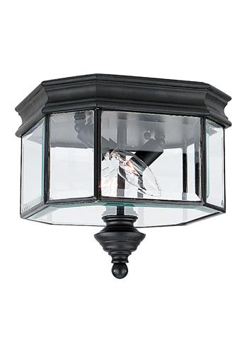 Sea Gull Lighting - Two Light Outdoor Ceiling Flush Mount - 8834-12