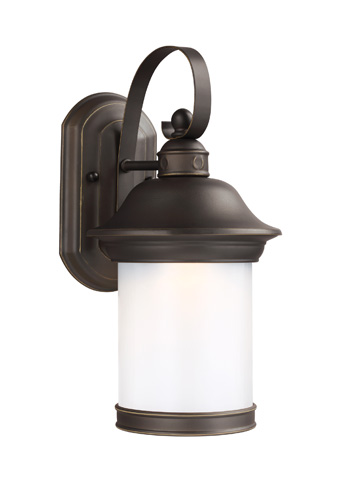 Sea Gull Lighting - Small LED Outdoor Wall Lantern - 8918191DS-71