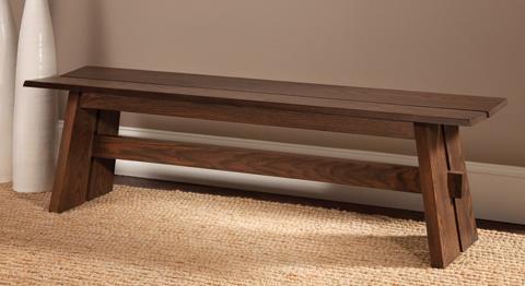 Saloom Furniture - Oak Bench - OBN-W 60 SPL