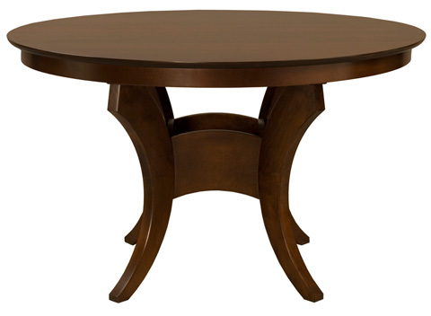 Saloom Furniture - Crescent Dining Table - MSWO 4242
