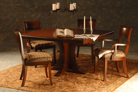 Saloom Furniture - Bristol Dining Table - NCWS 5454