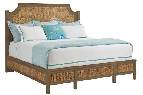 Stanley - Coastal Living - Woven Queen Bed in Deck - 062-33-41