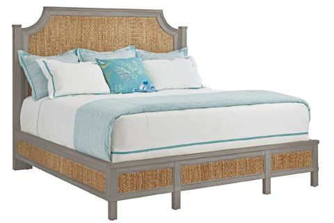 Stanley - Coastal Living - Woven Queen Bed in Morning Fog - 062-C3-41