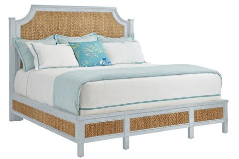 Stanley - Coastal Living - Woven Queen Bed in Sea Salt - 062-H3-41