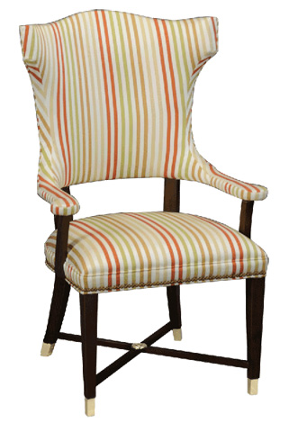 Stanford - Palmetto Arm Dining Chair - D588
