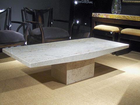 Stone International - Rectangular Cocktail Table - 3201