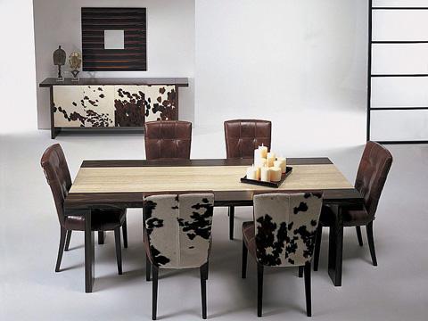 Stone International - Dining Table - 7096/W
