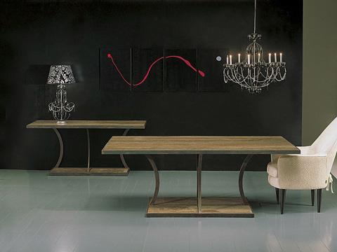 Stone International - Dining Table - 8096